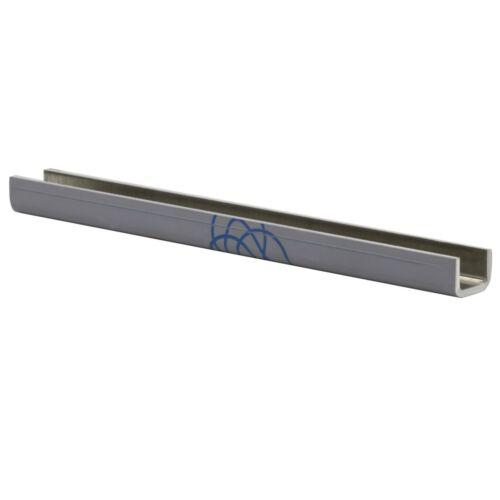 Aluminium U-Profile Edge Protection W profile C-Profile U Rail 30x30x40mm-2mm