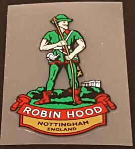 Robin Hood Head Badge Decal (sku 11507)