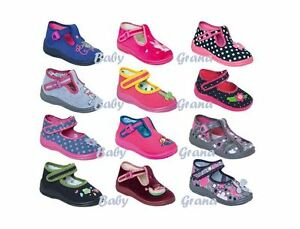 Toddler girls canvas shoes size 2-9 new