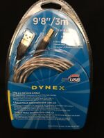 Dynex 9'8 Usb 2.0 Device Cable - Nip