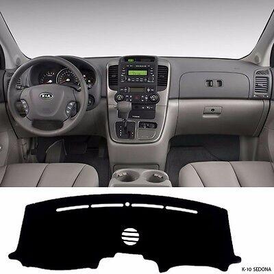 Fits Nissan Sentra 2002-2006 w// Hatch w// Alarm Sedona Suede Dash Cover Black