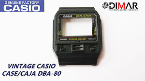 The Box Comes Without Buttons Vintage Case/box Casio Dba-80 Nos Watches, Parts & Accessories