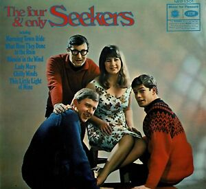 SEEKERS-The-Four-And-Only-Seekers-12-034-Vinyl-LP-Album-MFP-1301-EA