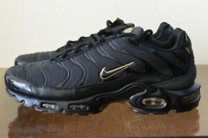 the best attitude 8cab4 dbe88 Details about Nike Air Max Plus TN 852630-024 Black Gold Sz 11
