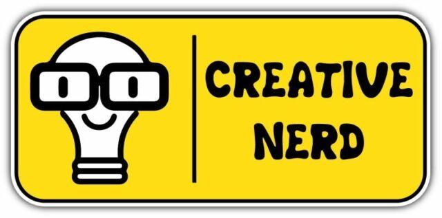 Weirdo Car Window Decal Vinyl Bumper Sticker Funny Joke Geek Nerd Weird Fun 0270