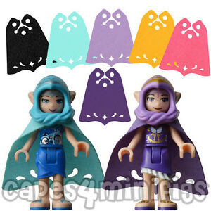 Afholte 3 CUSTOM Capes for your Lego friends elves minifig. 26486 style YO-58