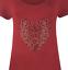Ladies-Plus-Size-Short-Sleeve-Leopard-Print-Stud-Heart-Casual-Long-T-Shirt-Top thumbnail 11