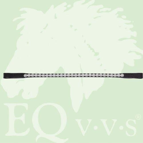 Eqvvs argent fleurs browband # 9868