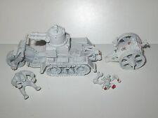 Warhammer 40K/Gorkamorka Ork part metal OOP Wartrakk Scorcher Primed White