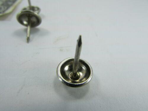"100 Pewter Finish Upholstery Tacks Round Head Decorative Nails 1//2/"" Shank"