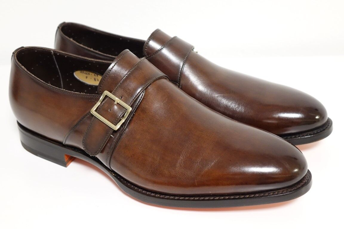 SANTONI Schuhe Businessschuhe Herrenschuhe Businessschuhe Schuhe - GR. 8,5 (42,5) - NEU/ORIGINAL 9ef6ae