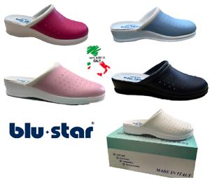 BLUSTAR DONNA 4002 - sabot sanitarie pantofole da lavoro MADE IN ITALY
