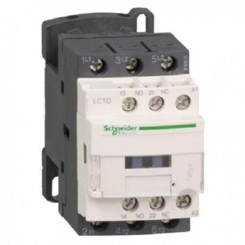 Contacteur Triphasé LC1D 3P  12 A bobine 230 V CA LC1D12P7  Schneider