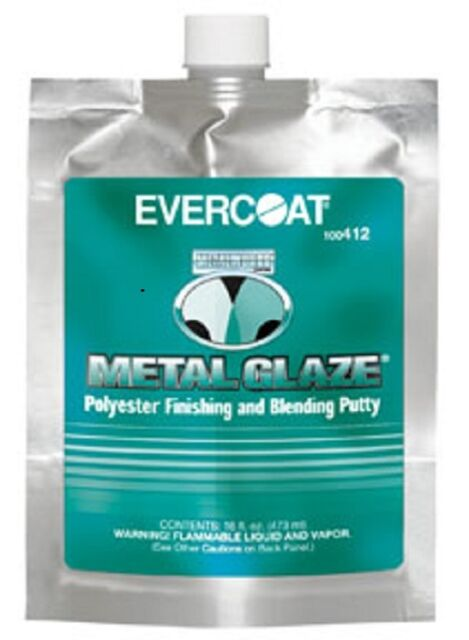 Evercoat Metal Glaze 16 fl. oz pouch 412
