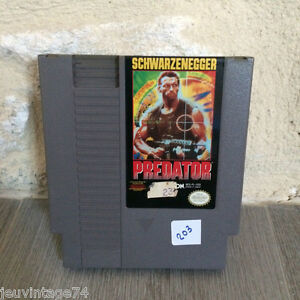 Predator-Nes-US-Nintendo-en-loose-NES-PL-USA-NTSC-Tested