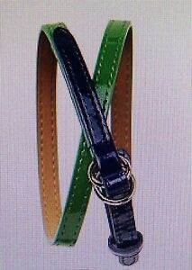 NWT-15-Baby-GAP-Girls-Elysian-Fields-Green-Patent-Belt-Size-2-5-years