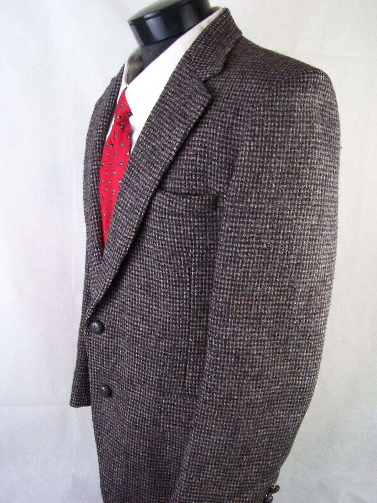Stafford Harris Tweed  Herren Blazer grau 100% Wool