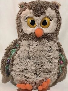 Little-Brownie-Bakers-OWL-Plush-Stuffed-Toy-100-Years-Girl-Scout-Cookies-11-034