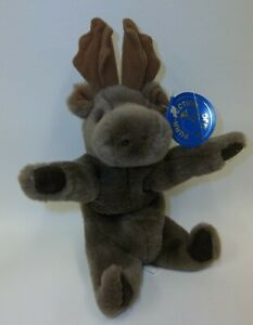 Purr-Fection-MJC-Plush-Stuffed-Moose-Doll-Toy-with-Tags