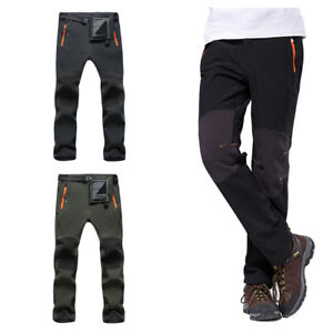 Image is loading Mens-Outdoor-Windproof-Fleece-Mountain-Hiking-Snowboarding- Ski- 6185a84b2