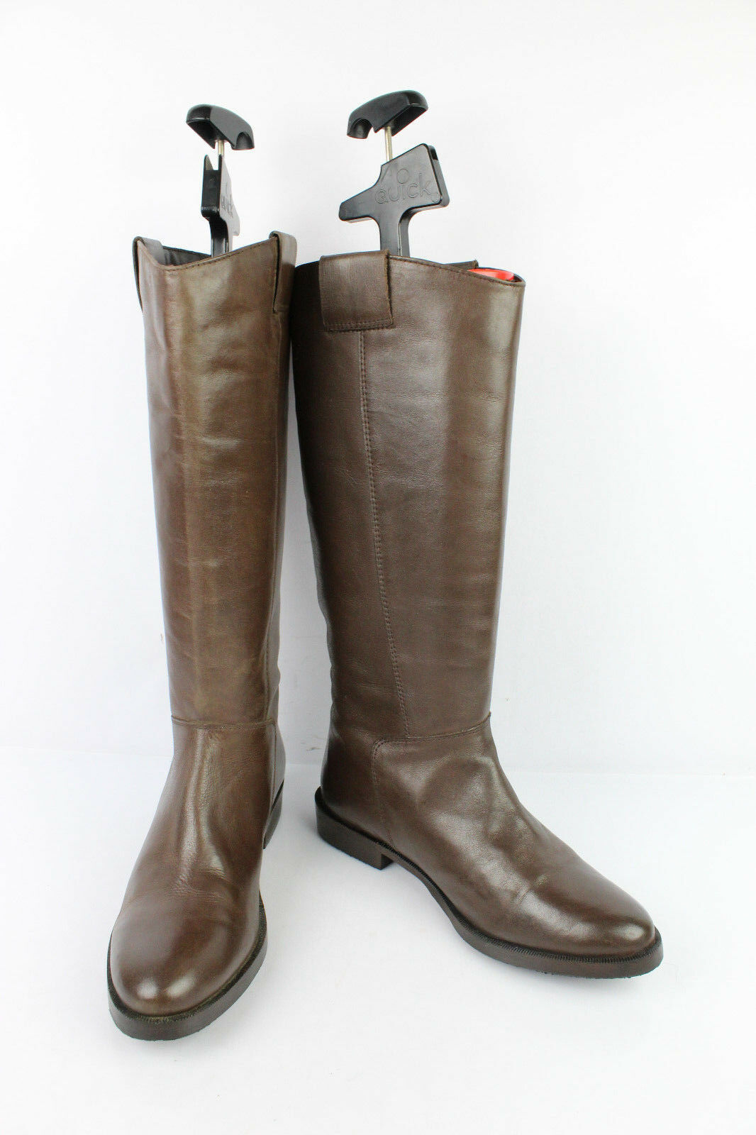 Boots ELITE Brown Leather T 38 VERY GOOD CONDITION