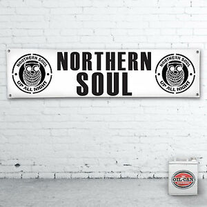 NORTHERN-SOUL-GARAGE-Banner-heavy-duty-for-workshop-garage-1700-x-430mm