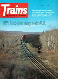 Etonnant Details About 1974 Trains Magazine: CNu0027s Back Door Entry To The US/PRR  Painting