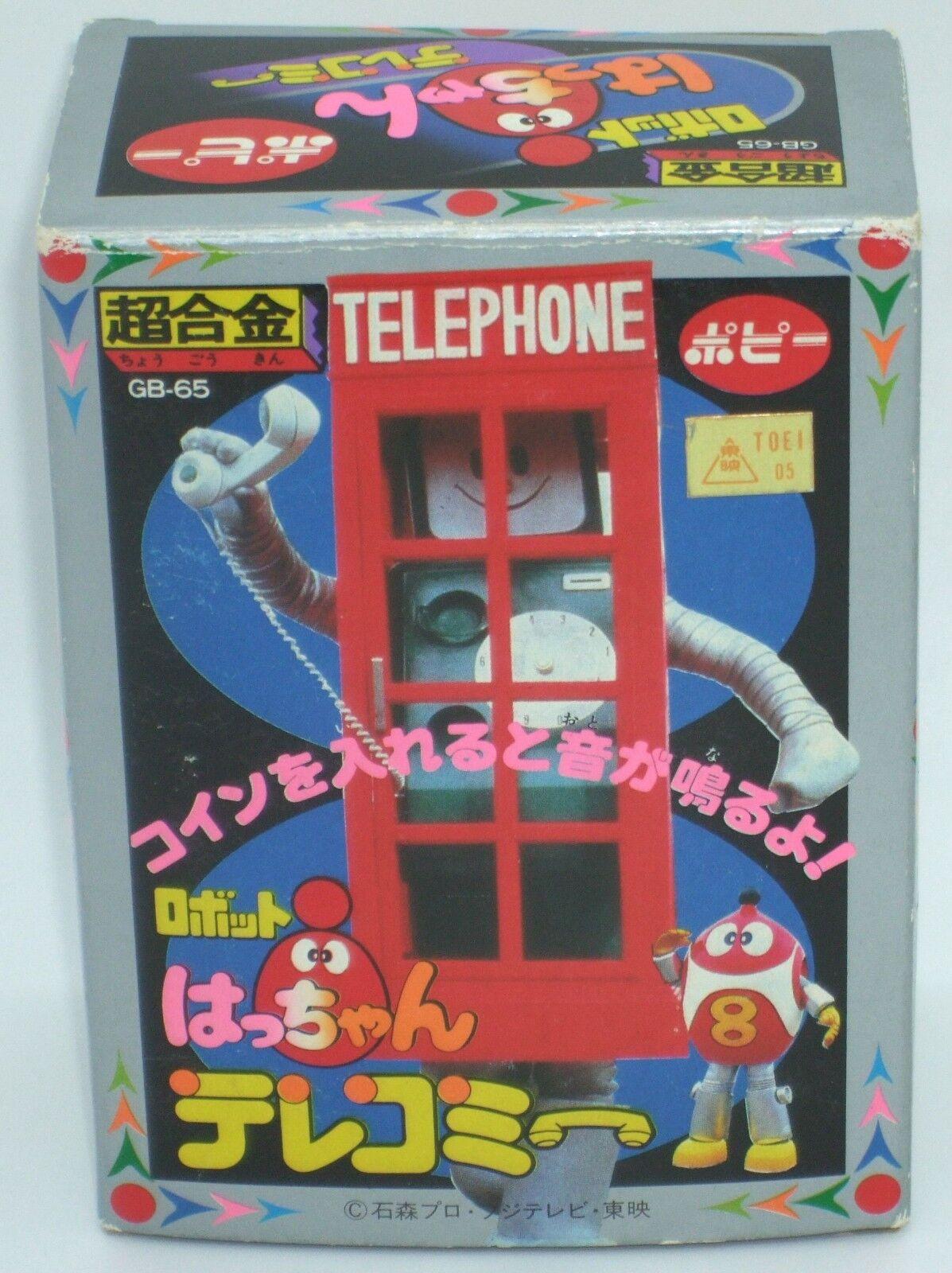 Robot 8-Chan Telephone Telemi Chogokin GB-65 Figure Dolls 4.1