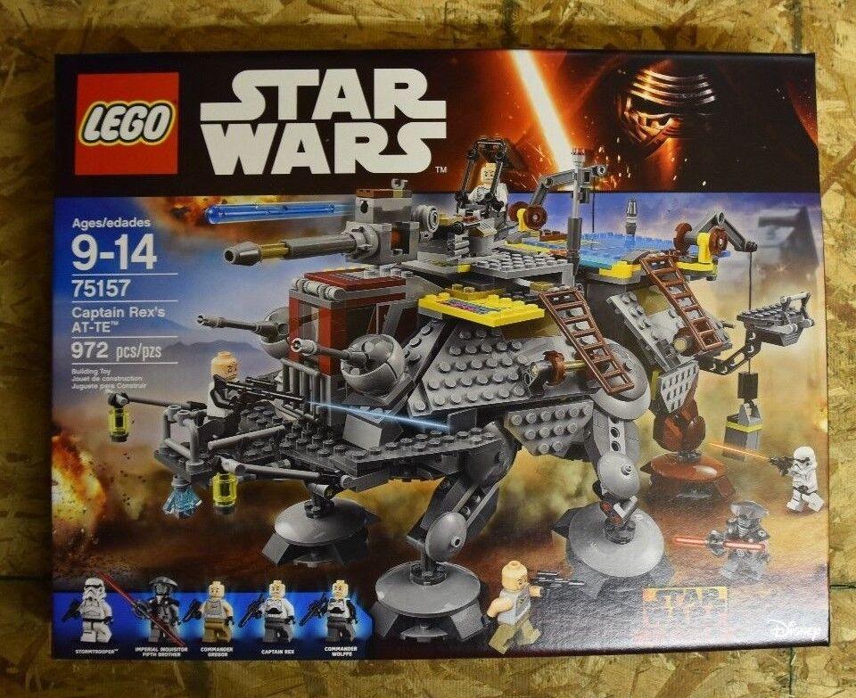 + HTF LEGO estrella guerras 75157 Captain Rex's at-te nuovo  IN SEALED scatola +  nuova esclusiva di fascia alta