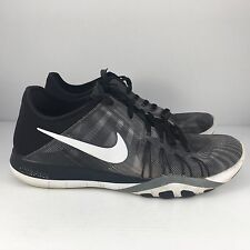449dff8bc3fca ... item 6 NIKE Free TR 6 Women US 9 Print Black Grey White Training Shoes  833424 ...