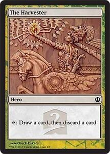 HERO PROMO EROE La Raccoglitrice - The Harvester MTG MAGIC THS Eng/Ita