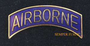 AIRBORNE-TAB-LAPEL-HAT-VEST-PIN-UP-US-ARMY-AIR-CORPS-VETERAN-GIFT-PARACHUTE-ARC