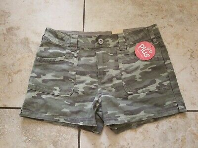 X Small New Size JR GI Tri Color Desert Camo Childrens Shorts