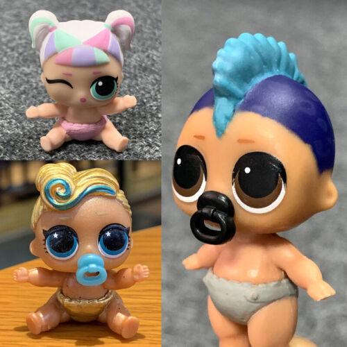 3Pcs Lol Surprise Dolls Lil Sisters Lil UNICORN PUNK BOI Boy 24K LUXE Authentic