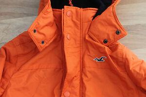 Hollister-Hombre-All-Weather-Chaqueta-Naranja-Talla-M-o-XL-con-etiqueta-nuevo
