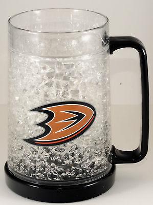 Anaheim Ducks Nhl Licensed 16oz Crystal Freezer Mug 16 Oz Great Looking New Ebay