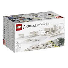 NEW LEGO ARCHITECTURE STUDIO set 21050 sealed new in white box architect design