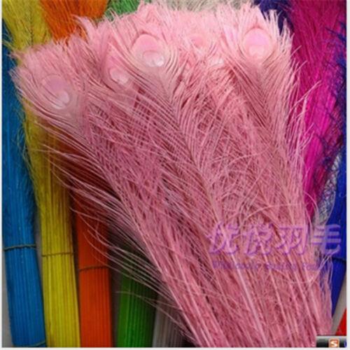 environ -91.44 cm Peacock Feathers À faire soi-même Mariage Décor Wholesale 10-1000PCS 80-90cm//32-36 in