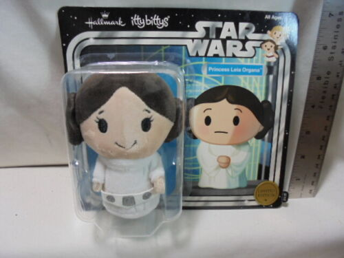 Hallmark Itty Bittys Star Wars Princess Leia Organa New with Package LE