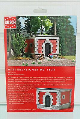 Aggressivo Busch 1636-h0 1:87 - Kit-riserva D'acqua-nuovo In Scatola Originale-mostra Il Titolo Originale