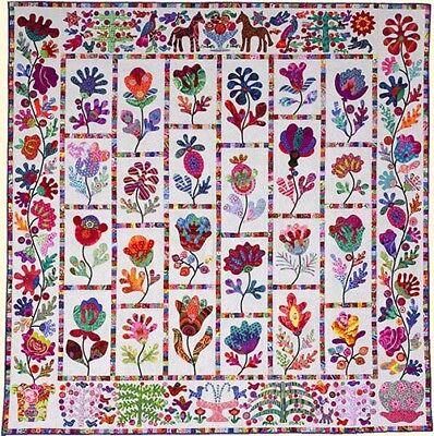 FLOWER POT  Applique Quilt Pattern by Kim McLean