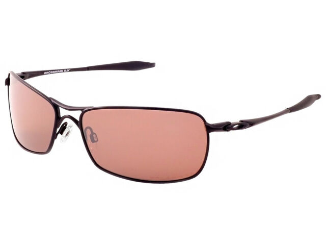 154d00b4fd Oakley Crosshair 2.0 Polarized Sunglasses OO4044-19 Black VR28 Black Iridium