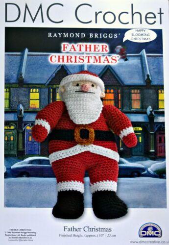 Santa CROCHET PATTERN Amigurumi Soft Toys Father Christmas DK PATTERN DMC