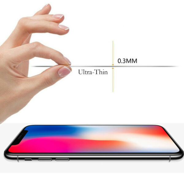 x3 Tempered Glass 9H Guard screen protector for Apple iPhone X front + Back
