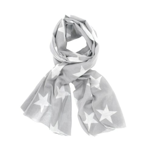 Krasilnikoff SCIARPA Star 70x200cm 100/% COTONE sciarpa foulard DIV colori