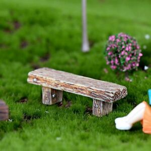 Remarkable Details About Delicate Long Wood Bench Miniature Figurine Garden Diy Decoration Accessories Andrewgaddart Wooden Chair Designs For Living Room Andrewgaddartcom