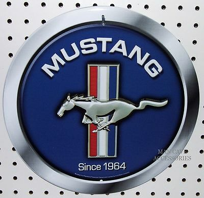 Mustang Flag Poster BUILT FOR SPEED SINCE 1964 Ford Way Cool Image
