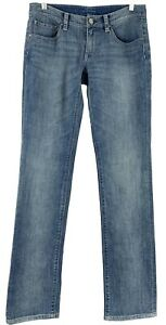 Elie-Tahari-Womens-Jeans-Size-4-x-32-Classic-Fit-Mid-Rise-Relaxed-Straight-Leg