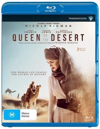 Queen Of The Desert, Blu-ray