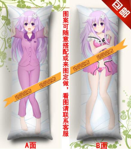 Nepgear Hyperdimension Neptunia Anime Dakimakura Pillow Case